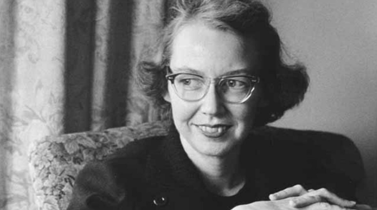 Lucky Savannah Flannery O'Connor Portrait by Georgia Humanities