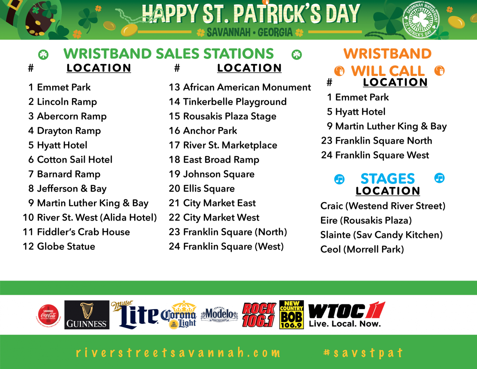 f7fd2917 The St. Patrick's Day Parade in Savannah is not only one of the biggest  Irish celebrations in the country, but notably one of the biggest parades  in the ...