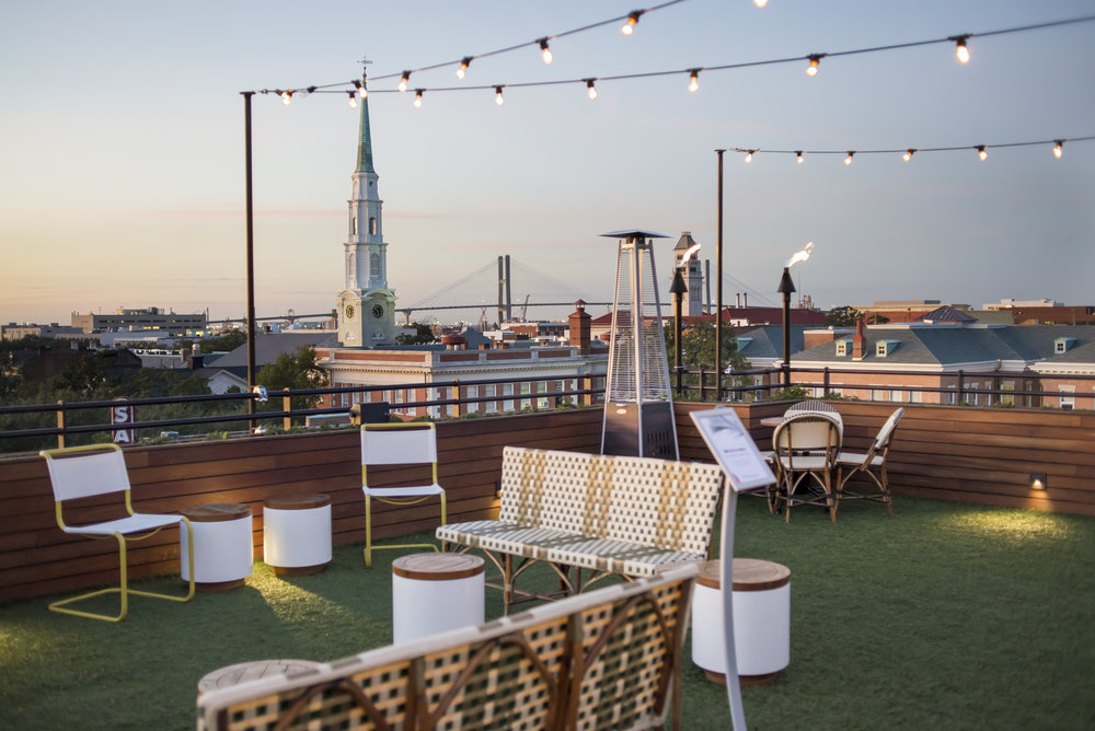 Lucky Savannah Outdoor Seating Restaurants Bars Peregrin Rooftop