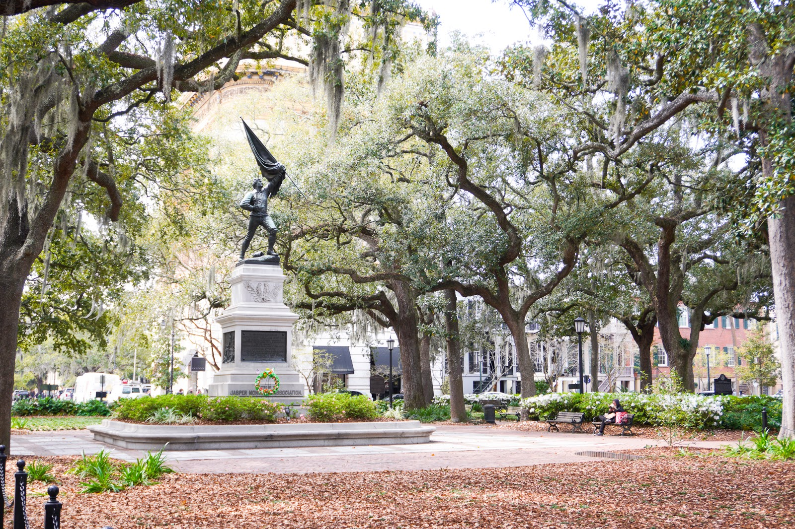 Madison Square in Savannah, GA