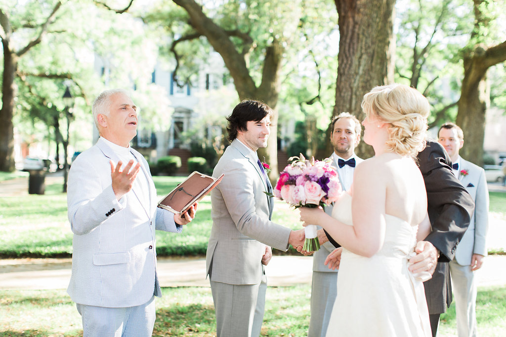Savannah wedding officiant Reverend Steven P. Schulte