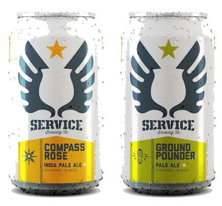 Service Brewing Company Beers