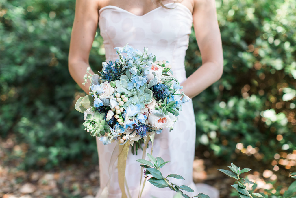 bridal bouquet from Urban Poppy florist, Savannah GA