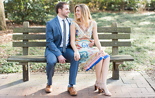 intimate Savannah elopement