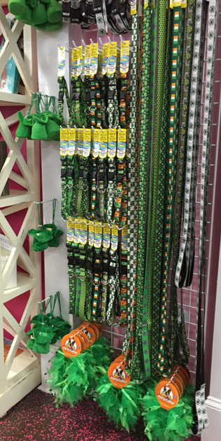 St Paddy's themed pet accessories