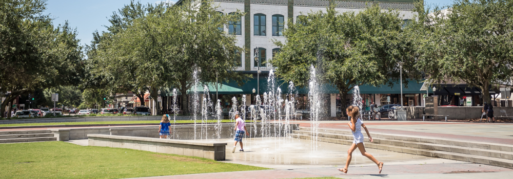 Visit Ellis Square in Savannah, GA