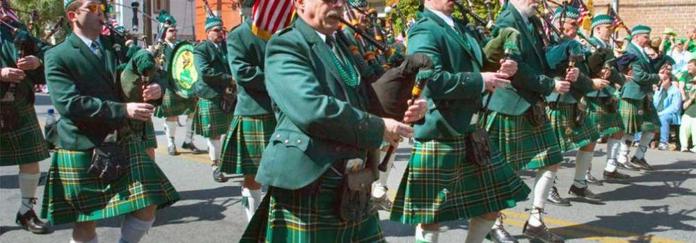 St. Patrick's Day Parade Route Information by Lucky Savannah