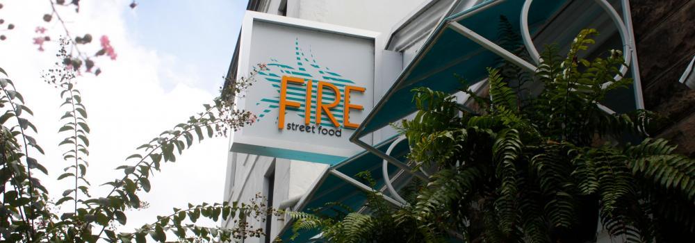 Fire Street Food Entrance