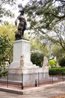 Chippewa Square in Savannah, GA