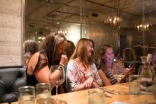 girls night out on a Savannah staycation