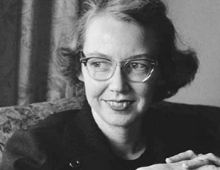 Flannery O'Connor Portrait by Georgia Humanities