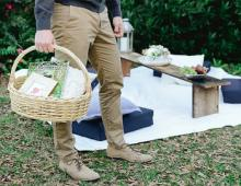 Picnic catering in Forsyth Park Savannah