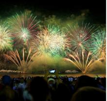 Savannah Fireworks