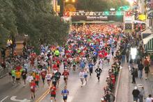 Savannah Rock n Roll Marathon runners